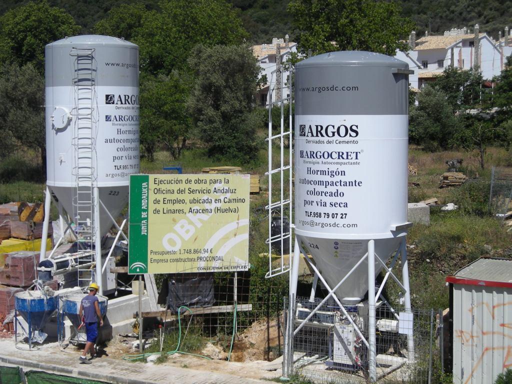El blog de argos argos derivados del cemento for Oficina empleo goya